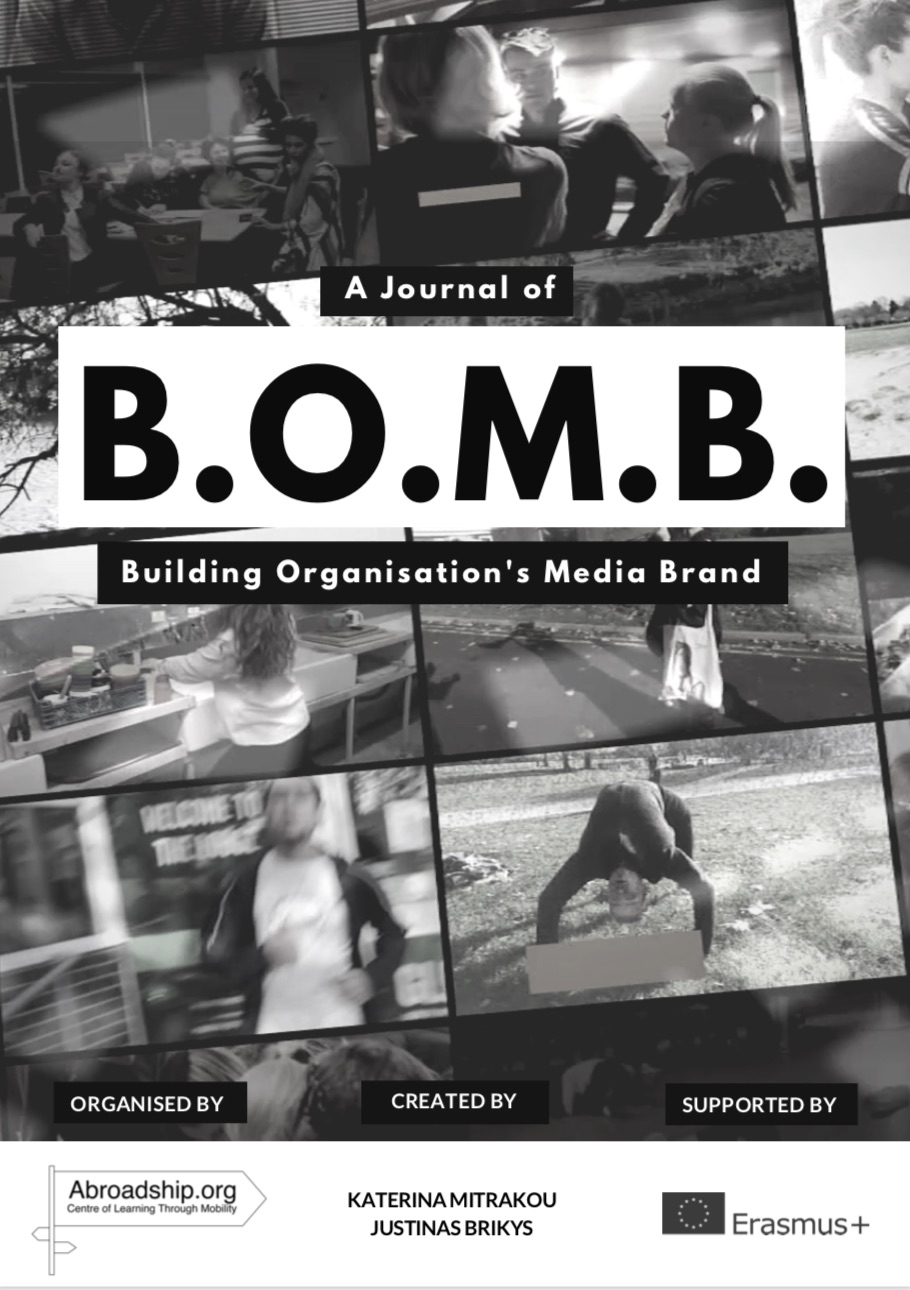 Journal B.O.M.B. - Building Organisation's Media Brand - abroadship.org