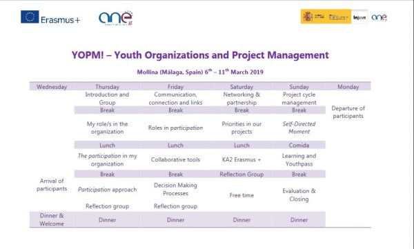 Youth Organizations and Project Management - training course - abroadship.org.