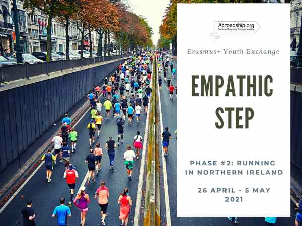 Empathic Step 2: Running in Northern Ireland - Erasmus plus youth exchange - Abroadship.org