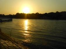 Sunset on the Nile.