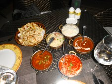 Indian: Curry, Tikka, Na'an, and more.