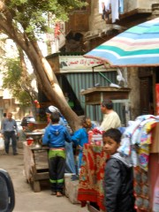 Daily life in old Islamic Cairo.