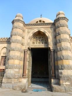 Entrance to a mausoleum.