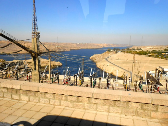 The Dam generates enough electricity to power all of Cairo.