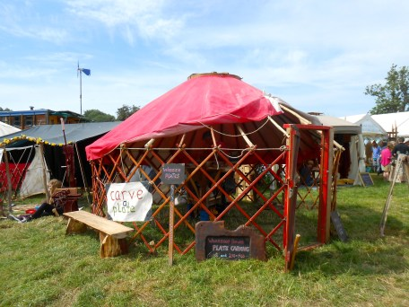 I cannot escape the ger (yurt)! It will follow me everywhere.