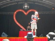 Professor Elemental performing on the Sensation Stage