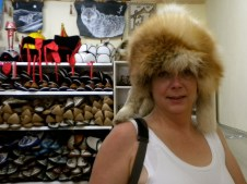 Silliness in Mongolia. Who doesn't need a decent fur hat?