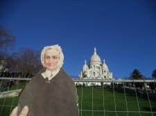 Flat Agnes at the Sacre Coeur