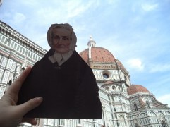Flat Agnes at the Piazza Duomo in Florence, Italy