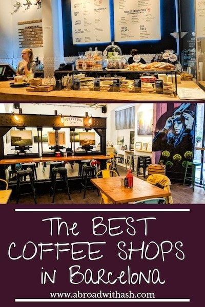 barcelona coffee shops