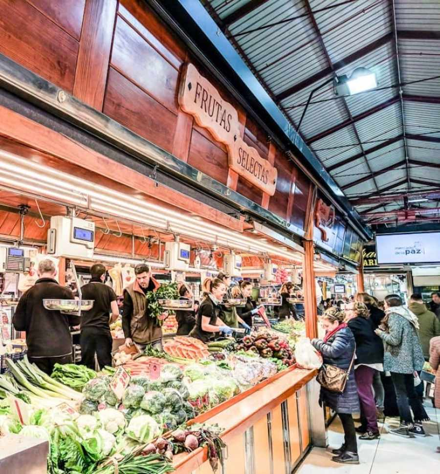 madrid food markets