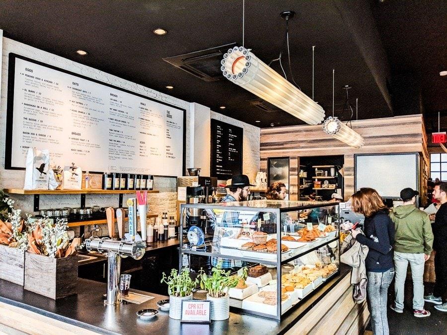 ues coffee shops