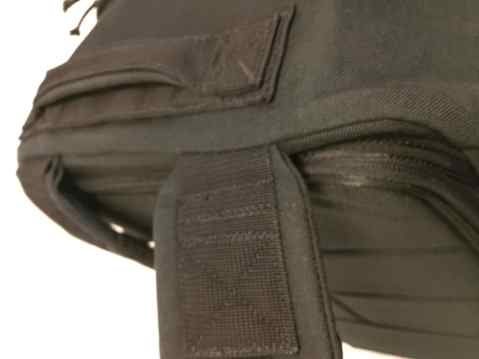 Reinforced stress points with high quality materials make the GORUCK GR3 an impressively durable travel backpack capable of carrying 400lb+ loads