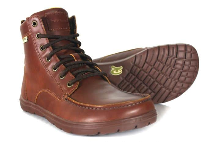 The Lems Boulder Boot - One f the best travel shoes for men that are adventurous and plan to explore...and look like it