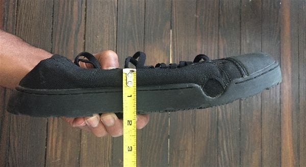 Grunt Style Raid Shoe thickness Measurements - A review by A Brother Abroad