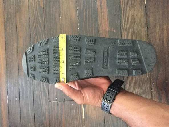 Grunt Style Raid Shoe Measurements - A review by A Brother Abroad