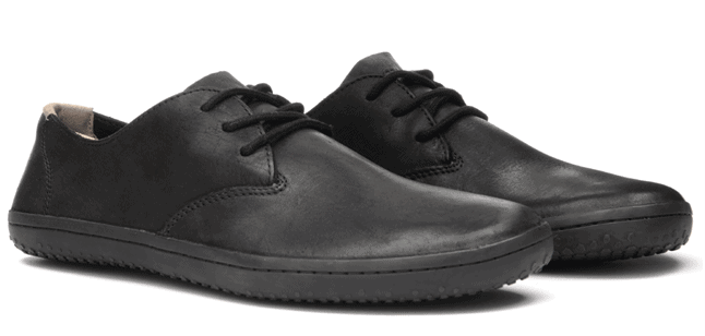 The Vivobarefoot Ra II are some of the best travel shoes for men because they look amazing and pack small
