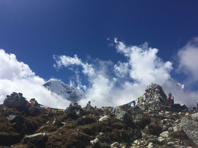 The last stop on the way to Gorak Shep on the Everest Base Camp Hike