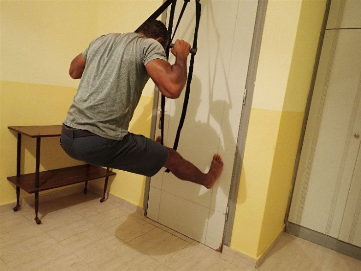 The Minimalist Trx Door Anchor Hotel Room Workout Or Outdoor