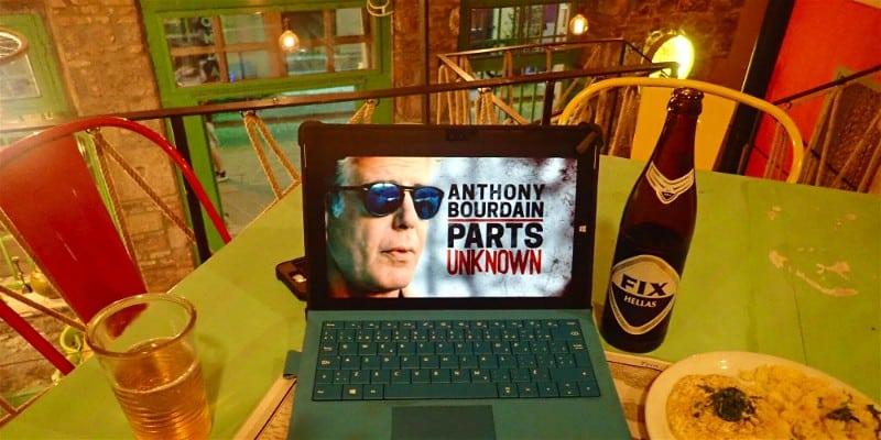 Anthony Bourdain Parts Unknown inspiring adventures
