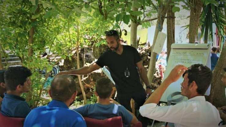 Teaching English to Refugees in Lesvos Greece as a Global Volunteer Teacher