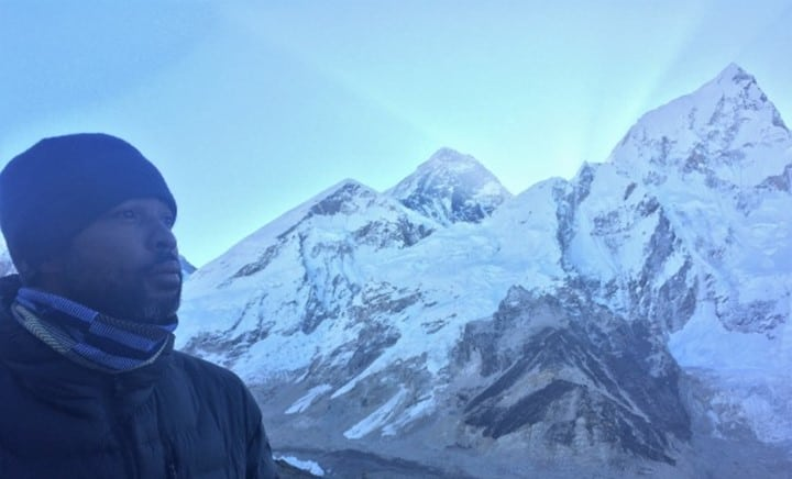 A Brother...abroad, and in the shadow of Mount Everest