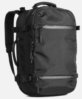The Aer Travel Pack 2 - an excellent Travel Backpack Carry On on the smaller side
