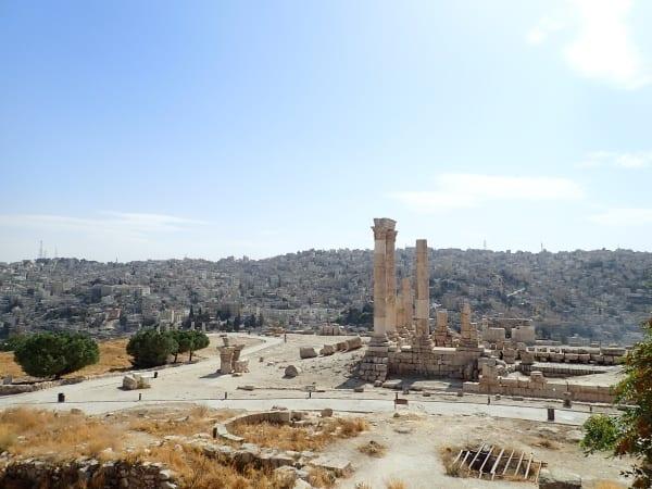 Amman Jordan and the Temple of Hercules