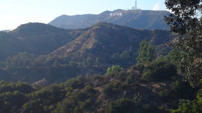 Hollywood Sign, Griffiths Observatory, Los Angeles, California