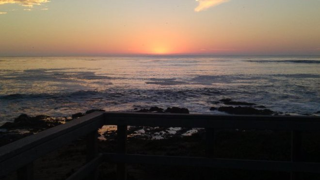 Sunset at Moonstone Beach, Cambria 2