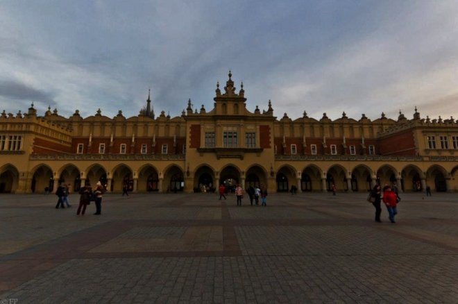 Cloth Hall - the world's oldest shopping mall