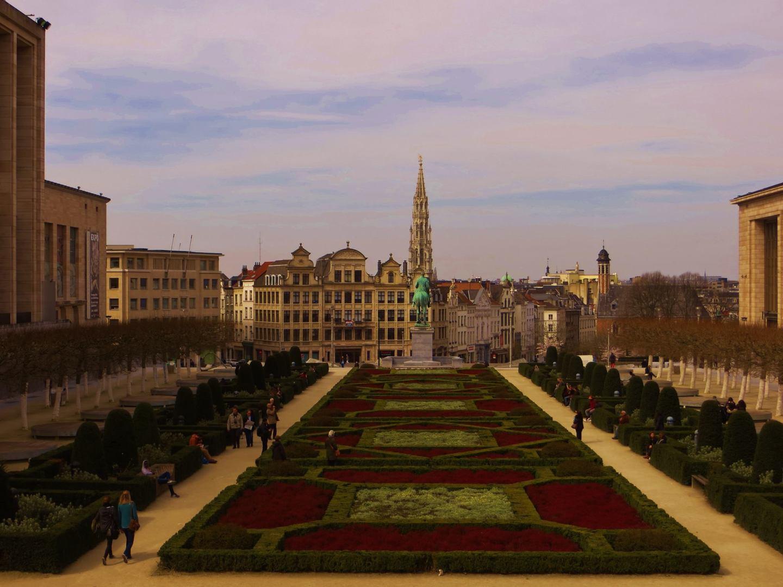 Jardin du Mont des Arts, Brussels