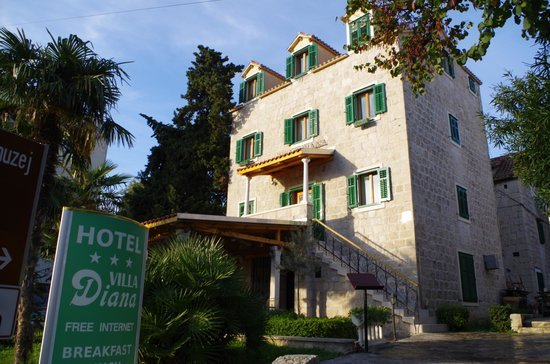 Villa Diana Split Croatia