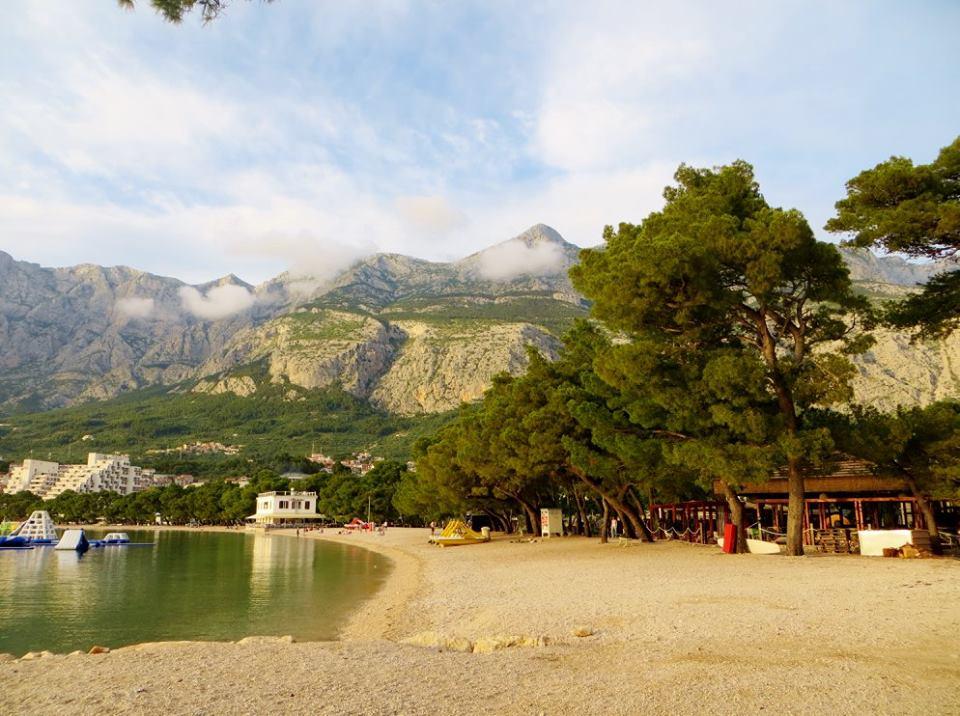 The beautiful town of Makarska,