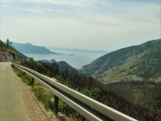 Driving the Pelješac peninsula croatia