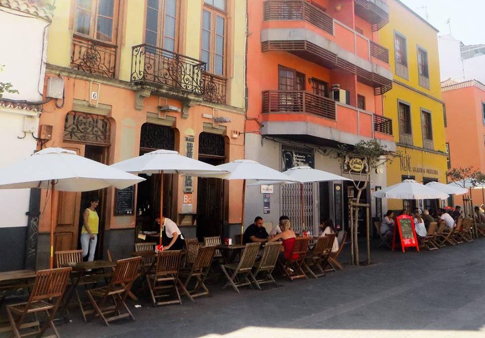 Exploring the colourful streets of La Laguna, Tenerife