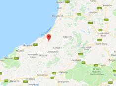 Google Map - Wildernest, Dihewyd, Mid Wales