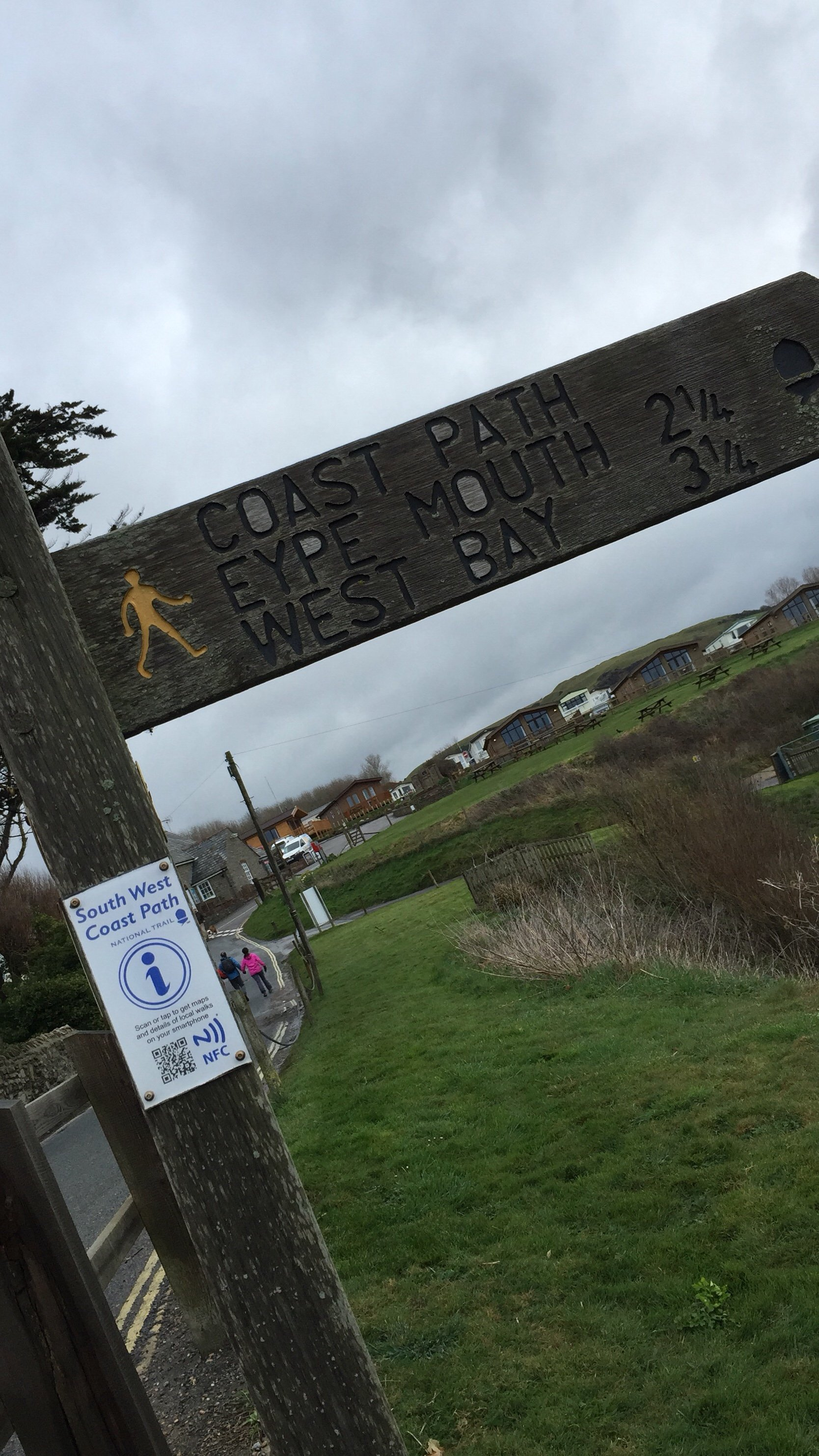 Seatown, Dorset - the starting point of our South West Coastal Path walk