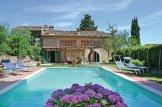 Villa, Tuscany, swimming pool, sun loungers