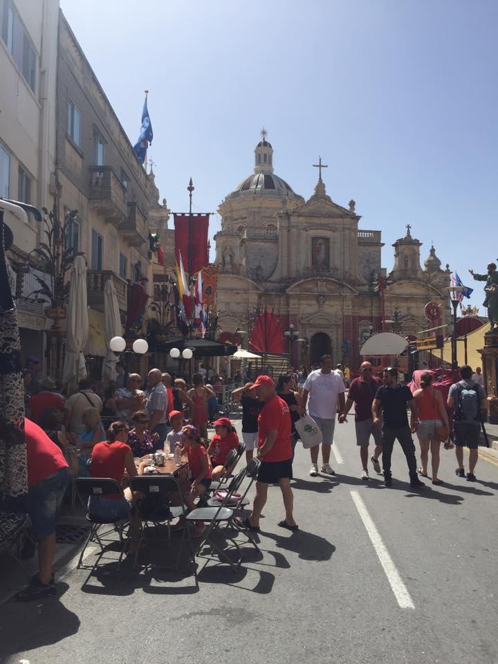 Festa in Rabat, Malta
