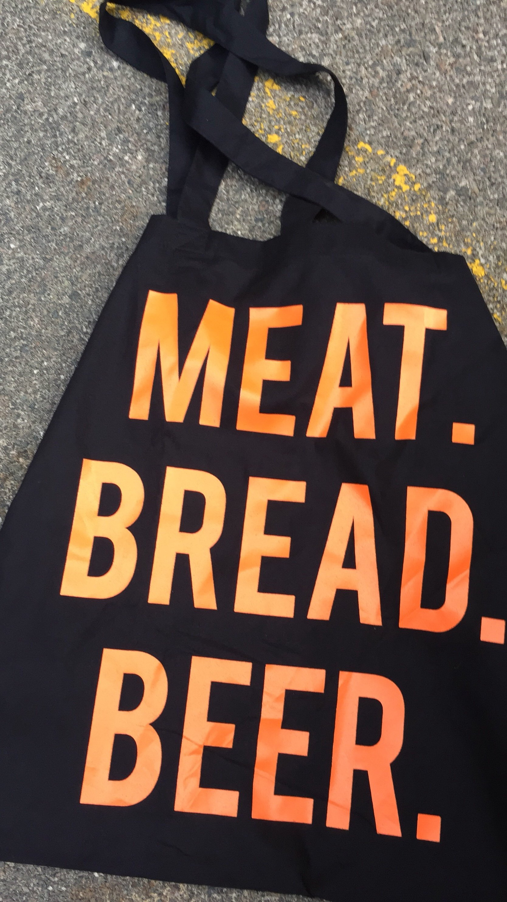 The Lock and Key Beer Con at The Bond in Digbeth. Tote Bag from The Pint Shop. Meat Bread Beer
