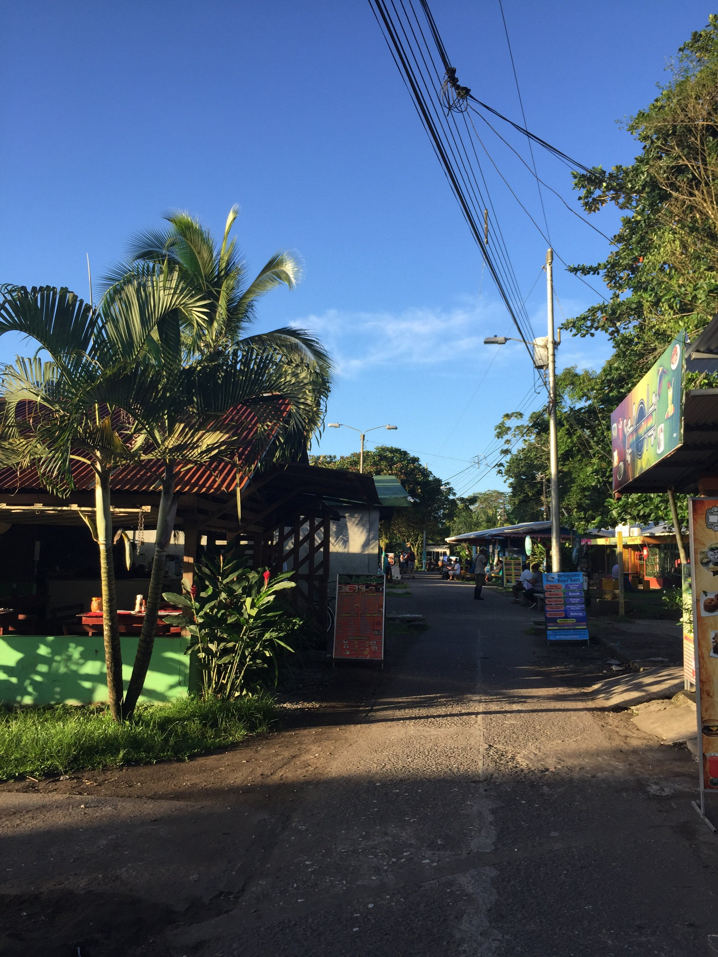 The village of Tortuguero