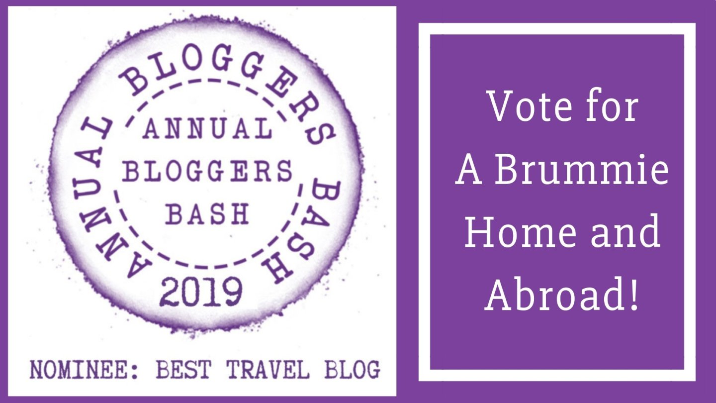 I've been nominated for Best Travel Blog!