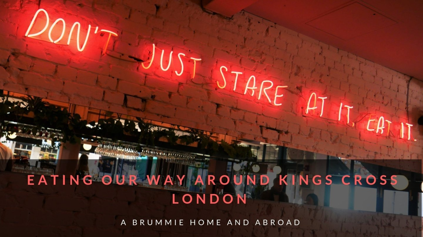 Places to eat in Kings Cross London