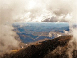 Head in the clouds! at Summit Mount Washington