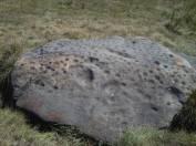 pierre aux immoles oberhalb Vlla Evolème CH