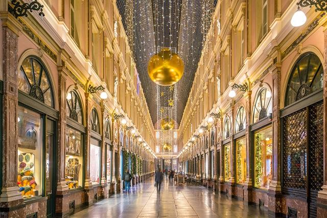 Galerías de Saint Hubert - La galería comercial más famosa de Bruselas