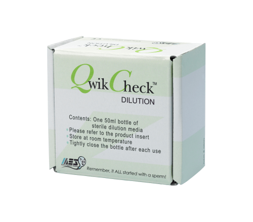 QwikCheck™ Dilution Kit for use in semen analysis, andrology