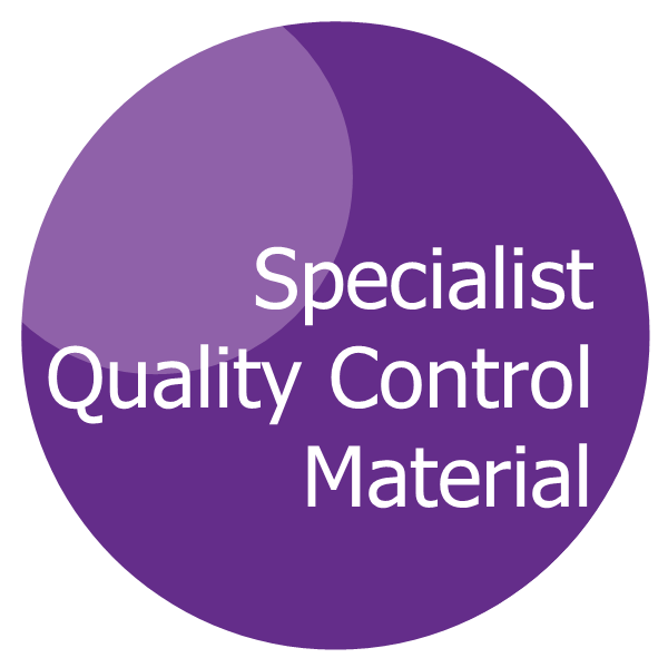 Specialist Quality Control Material for clinical chemistry and immunology