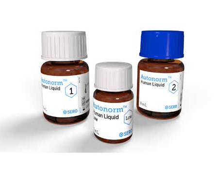 Complete chemistry control, including clinical chemistry analytes, lipids, enzymes, proteins, hormones, cardiac markers and therapeutic drugs
